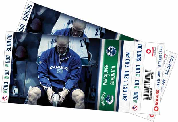 Vancouver Canucks tickets