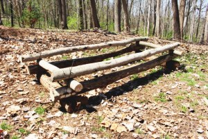 How to Make An Evergreen Bough Bed-posts