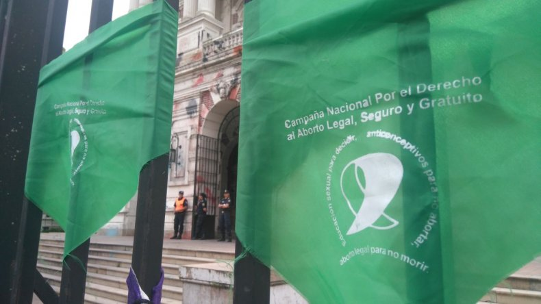 pañuelo verde aborto