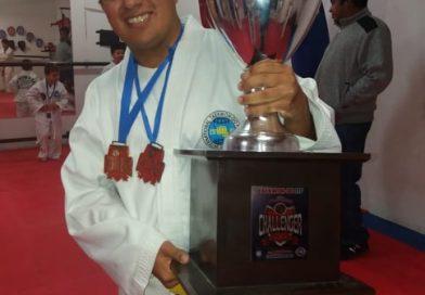 Dario Rios campeón en taekwondo Adaptado