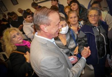 Arrieta anunció la instalación de un nuevo centro de diálisis