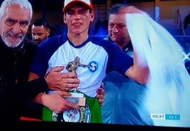 Claudio Daneff campeón Latino!