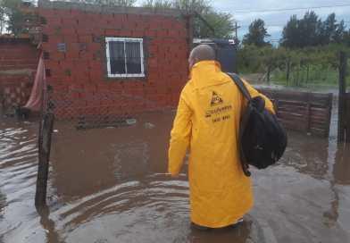 Llovieron casi 200 milímetros y hay más de 50 evacuandos