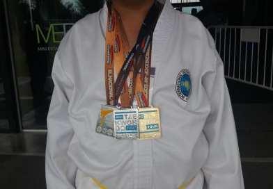 Dario Rios campeón nacional 2019 de Taekwondo adaptado