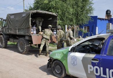 El Ejército llegó a Cañuelas