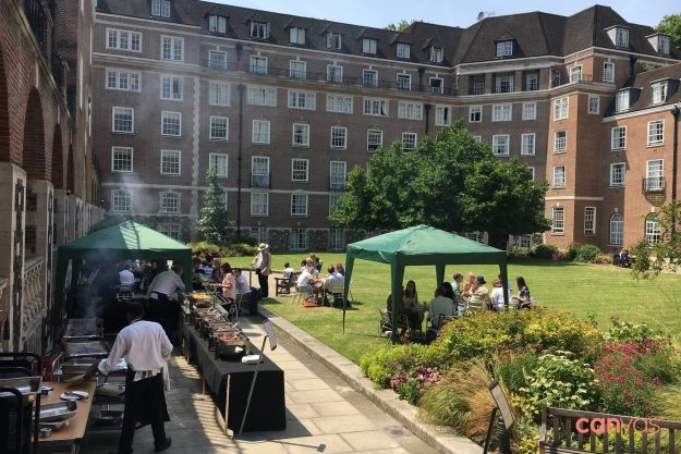 goodenough college bbq party