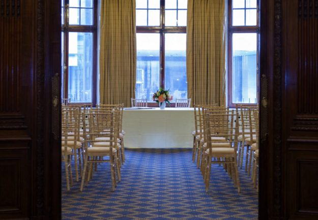 No.4 Hamilton Place - wedding reception venue in a traditional building in London