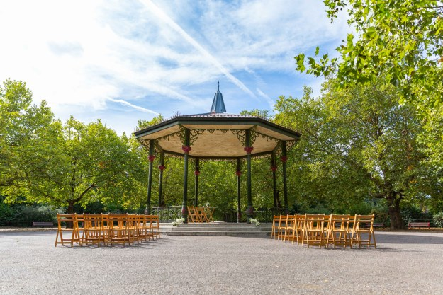 get married in battersea park - victorian bandstand