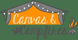 Canvas and Campfires Logo