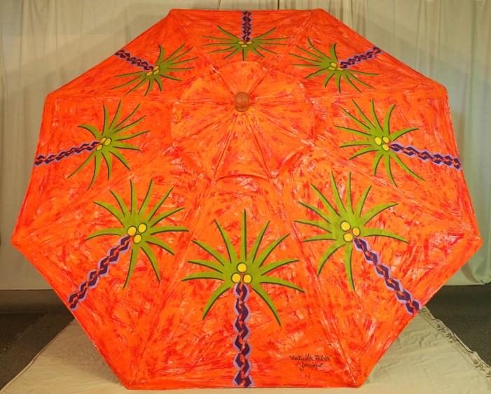 """Caliente Palms"" Market Umbrella"