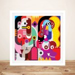 Buy Framed Colourful Abstract Canvas Wall Art Framed Art Prints Cairns