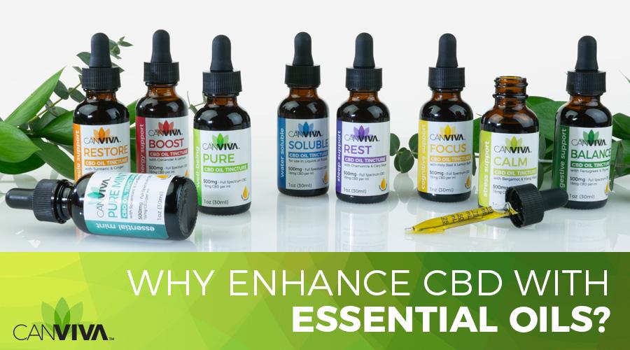 Why Enhance CBD With Essential Oils?