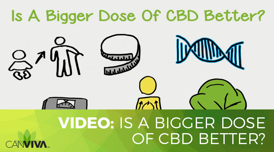 Is A Bigger Dose Of CBD Better