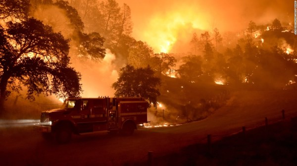 SoCal Firefighters Help Contain NoCal Fires
