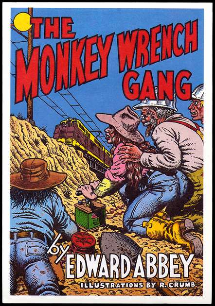 Image result for the monkey wrench gang