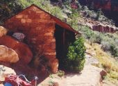 Santa Maria rest house in Grand Canyon
