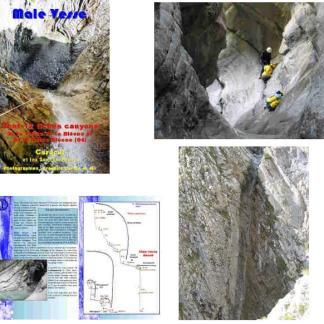 Male Vesse (dont 12 fiches canyons de la vallée de la Bléone et de la Haute-Bléone)