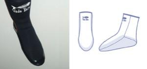 VR 3mm socks (AC300) T