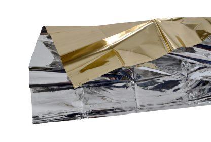 Gold Silver Emergency Blanket