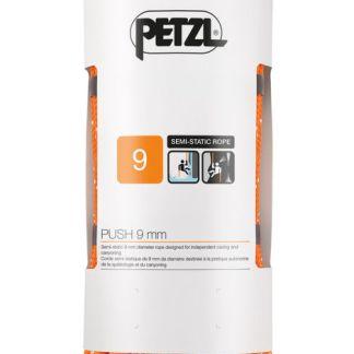 Petzl PUSH 9mm Oranje