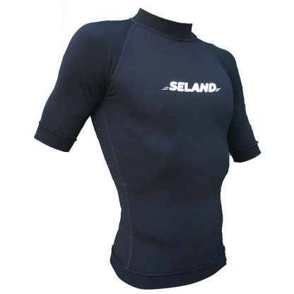 ACMLT ELASTAN AND POLYAMIDE T-SHIRT