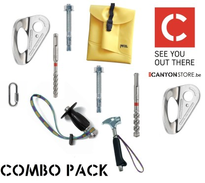 Combo Pack Bolting Kit with SDS Drills