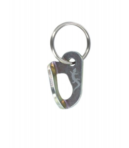 FIXE073 Zinc plated steel Fixe hanger (key ring)