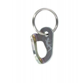 FIXE073 Zinc plated steel Fixe hanger (key ring)