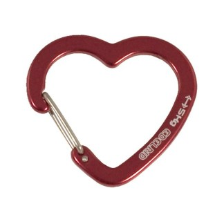 Edelrid Corazon -- heart shaped gear carabiner