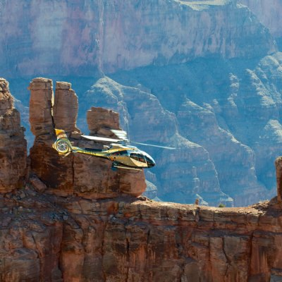 Grand Canyon West Rim Air-Only Helicopter Tour from Las Vegas
