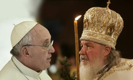 Francesco e Kirill insieme