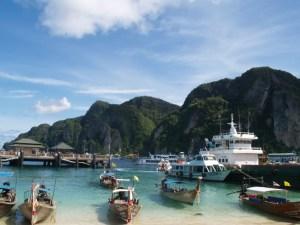 Ko-Phi-Phi-boats