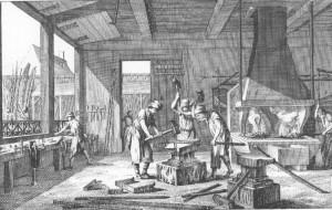 diderot blacksmith