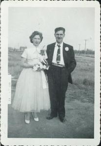Vital and Rita Thebeau Marriage Photo