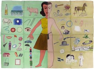 Fracesco Clemente Hermaphrodite 1985