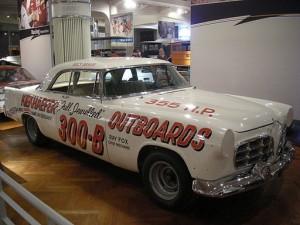 Stock Car Henry_Ford_Museum_August_2012_30_(1956_Chrysler_300-B_stock_car)