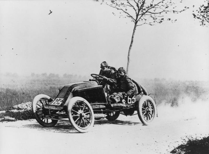 The Race of Death! –  Paris – Madrid Road Race – 1903