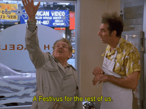 Festivus for the Rest