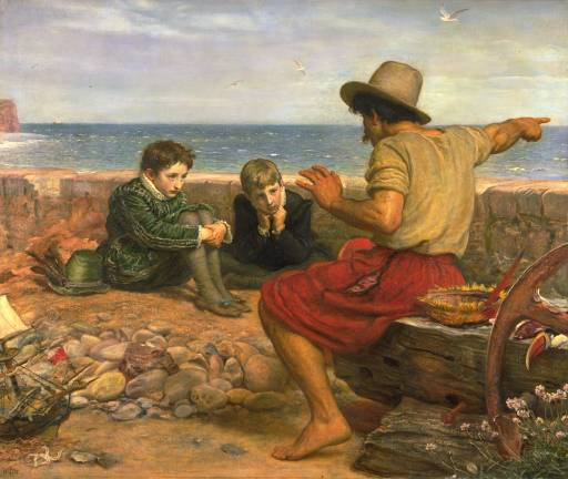 Boyhood of Raleigh - Millais