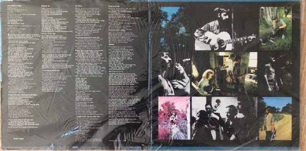 Ringo Starr Beaucoups of Blues Gatefold Interior