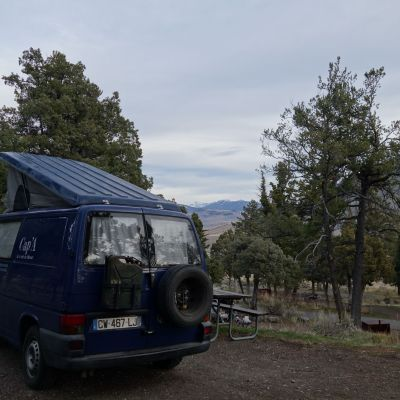 Mamoth Spring-Yellowstone