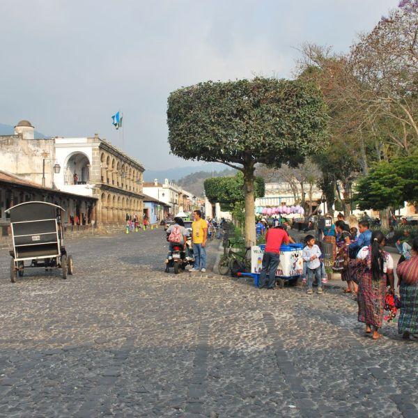 Antigua Guatemala Parque Central