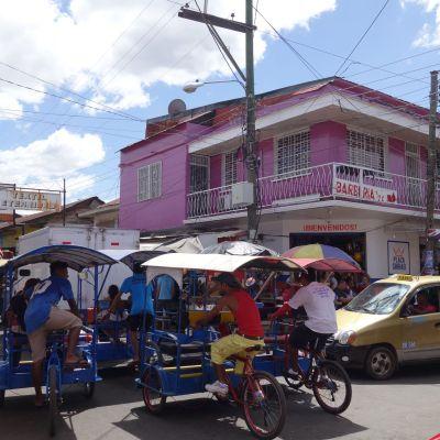 Nicaragua Chinandega calle