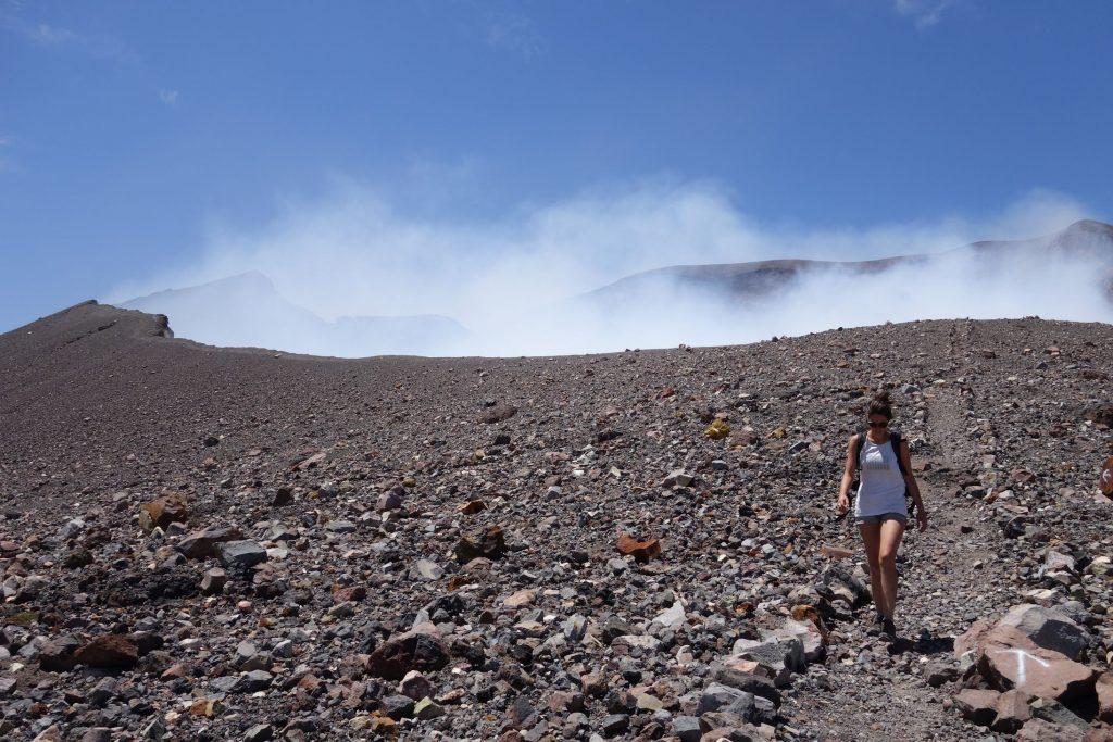 Nicaragua Telica Crater