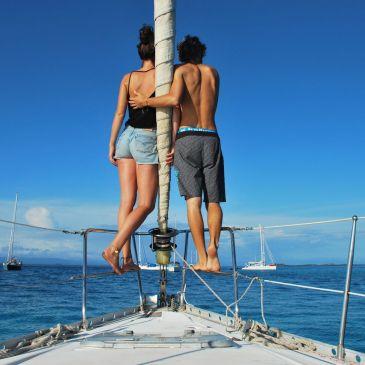 J 215 à 219 – Entre deux Amériques : Du Panama à la Colombie, traversée par l'archipel des San Blas