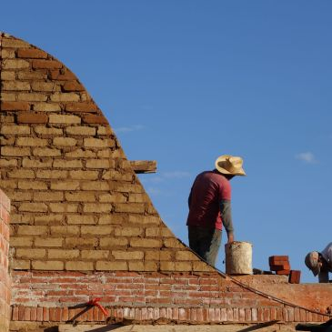 Les « bovedas », voûtes mexicaines en briques de terre cuite et d'adobe