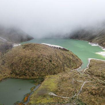 J 251 à J 253- Dernière étape Colombienne, entre lac d'altitude et architecture religieuse