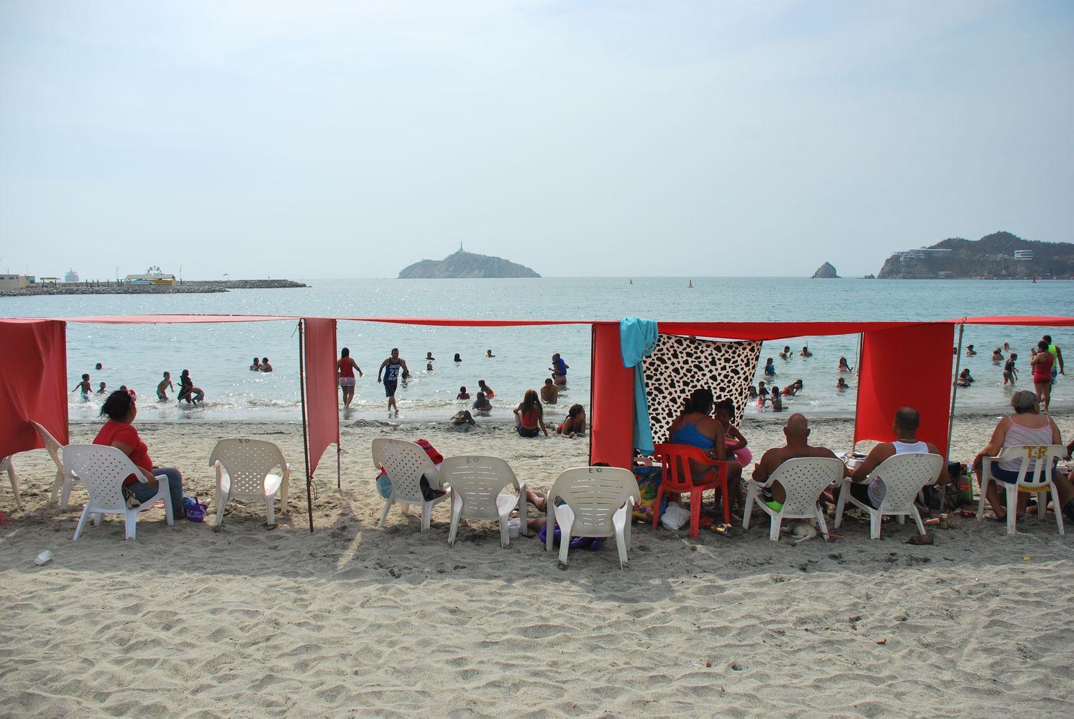 Santa Marta-Colombia Beach