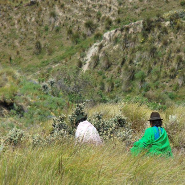 Quilotoa femmes