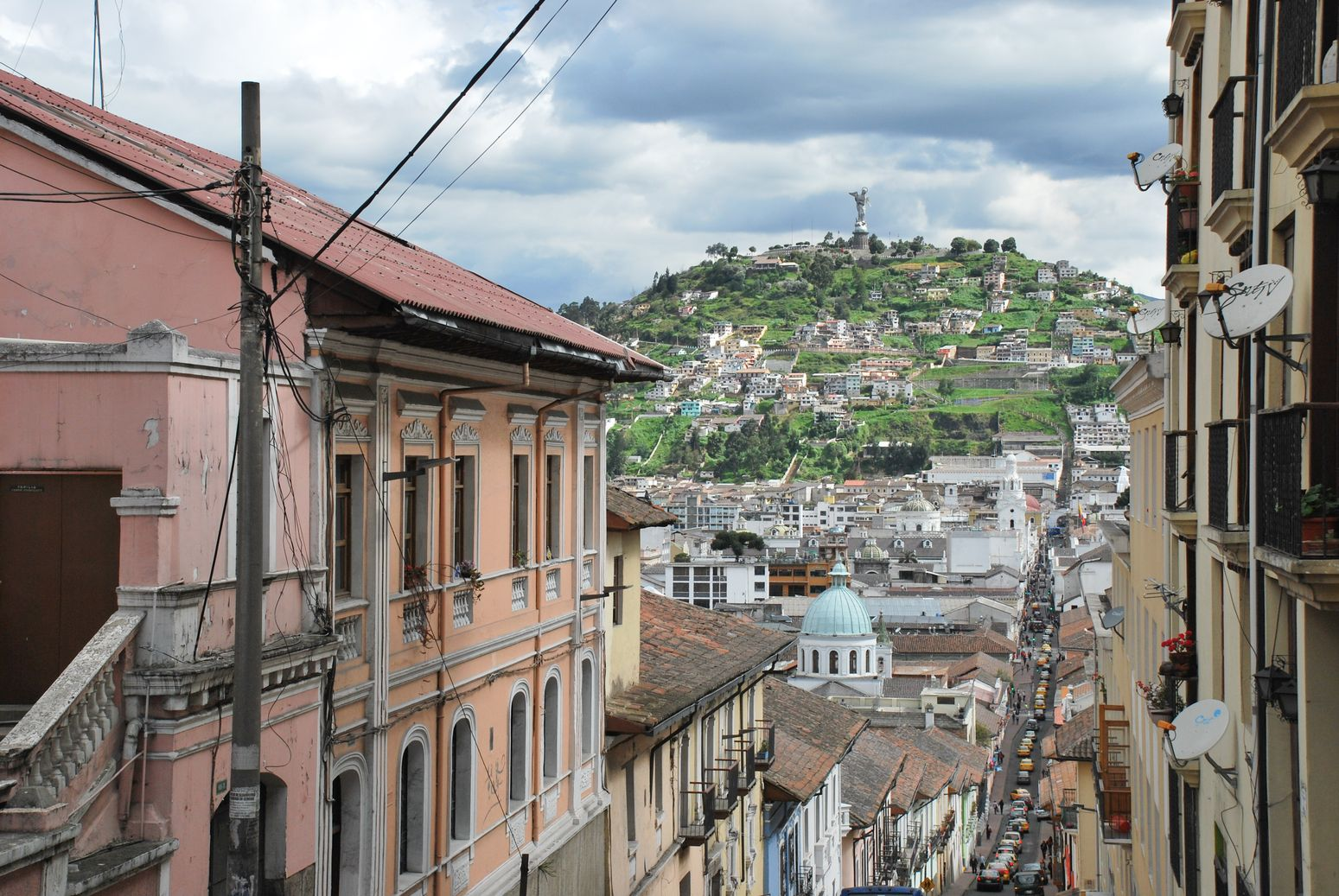 J257 à J262 : Quelques jours dans une capitale haut-perchée : Quito